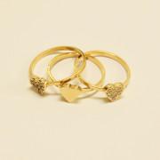 3 aneis dourados